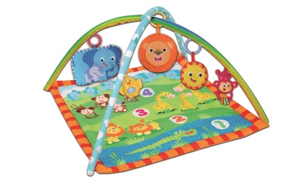 Bontempi Musical Baby Jungle Gym with Animals