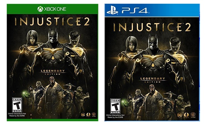 injustice 2 codes xbox one