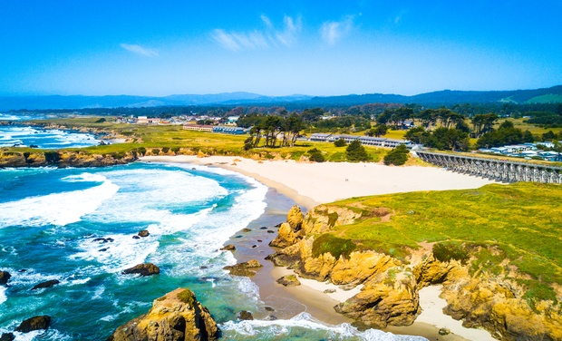 Mendocino Coast Hotel And Spa With Bike Als