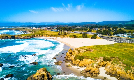 Stay with Half-Day Bike Rental at Beachcomber Motel & Spa on the Beach in Fort Bragg, CA. Dates into May 2019. (Getaways Beach Vacations) photo