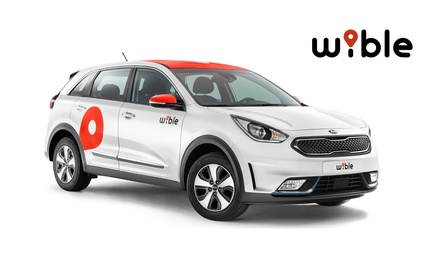 Paga 0 € en Groupon y disfruta de un bono de 50 minutos gratis para alquiler de coche eléctrico con WiBLE