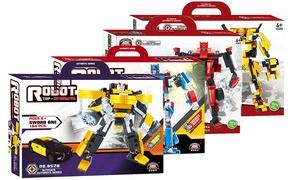 Robots Building Blocks Set