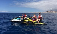 Excursión en moto de agua (30, 60 o 120 minutos) para hasta 4 personas desde 34,95 € con Atlantis Water Sports Center