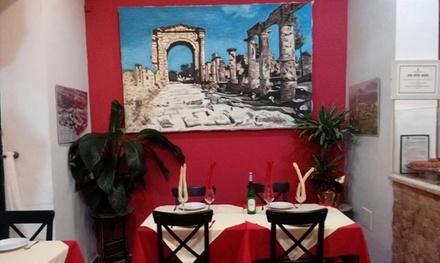 Menú libanés para 2 con entrante, principal, postre, bebida y opción a show desde 22,99 € en Restaurante Libanés Mallah