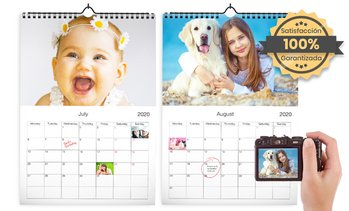 Calendario de pared personalizable