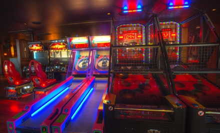 Arcade-Game Tokens for Two or Four at Grand Central Bowling Lounge (Up to 48% Off)