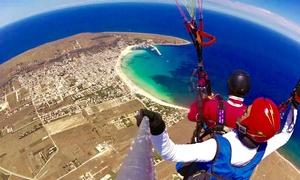 Sicilia Sport e avventura: Volo su parapendio in tandem con pilota Aeroclub Italia da Sicilia Sport e Avventura (sconto fino a 54%)