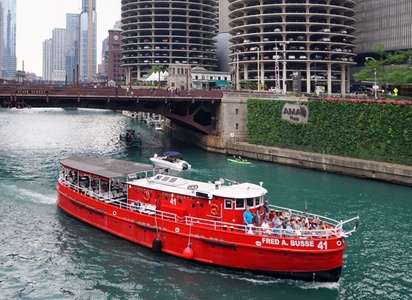 90-Minute Cruise for One, Two, or Four from Chicago Fireboat Tours (Up to 46% Off)
