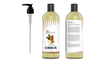 Pursonic 100% Natural Sweet Almond Oil (1- or 2-Pack)