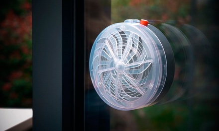 Pack de 2 lámpara solares anti-mosquitos