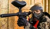 Game of Paintball with 150 Balls