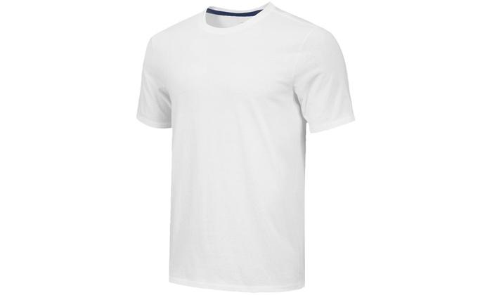 d3a183af60d2 Men's Dry-Fit Crew-Neck Short-Sleeve Active T-Shirt (5-Pack) | Groupon