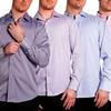 Elie Balleh Men's Collared Button-down Shirt