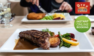 Dros Willowbridge: Choice of 300g Rump or Sirloin Steak from R149 for Two at Dros Willowbridge (Up to 43% Off)