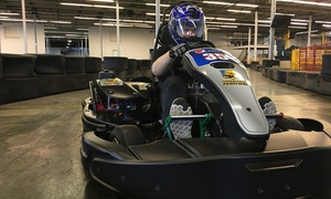 Grand Prix Karting ??Up to 53% Off Go-Kart Racing