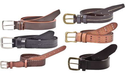 Set of Three Mens Belts