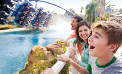 Up to 40% Off 2 or 3 Park Admissions to SeaWorld Florida Parks