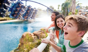 Up to 40% Off 2 or 3 Park Admissions to SeaWorld Florida Parks at SeaWorld Orlando, plus 6.0% Cash Back from Ebates.