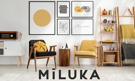 Paga 1€ y obtén hasta un 25% de descuento en productos de iluminación o en toda la web de Miluka