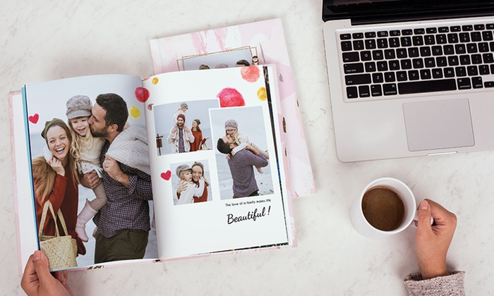 40-Page Personalized Imagewrap Photobook from Photobook Canada (Up to 87% Off)