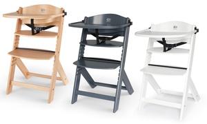 Chaise haute 3 en 1 en bois Kinderkraft