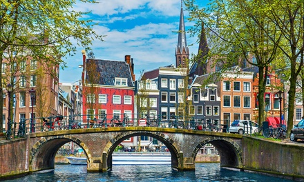 ✈ Amsterdam: 24 Nights at Choice of Hotels with Return Flights *