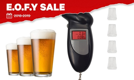 Portable Digital Alcohol Breathalyser: One $10.95 or Two $18.95 Don't Pay up to $98