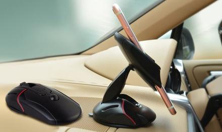 1 o 2 soportes retráctiles de teléfonos móviles para coche