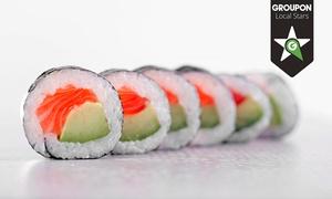 Koku Sushi Gdańsk: Sushi: 17,99 zł za groupon wart 30 zł lub zestaw 18 szt. za 35,99 zł w Koku Sushi Gdańsk (do -40%)