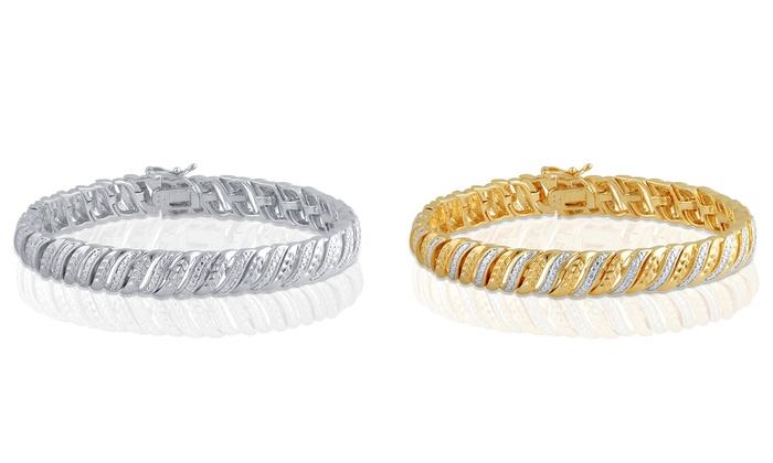 Clearance: Diamond Accent Bracelet by Brilliant Diamond
