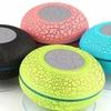 LAX Gadgets Wireless Bluetooth Waterproof Shower Speaker