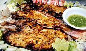 Mai Quesi: Mexican Food and Seafood at Mai Quesi (40% Off).