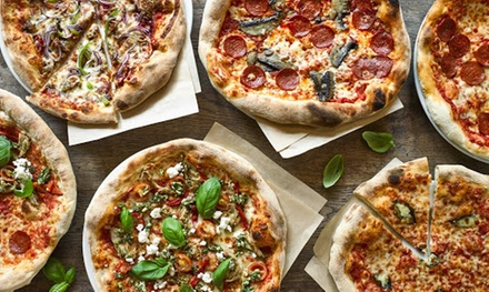 Pizza or Burger and Cocktail for Up to Four at Revolution Bars, Nationwide (Up to 59% Off)