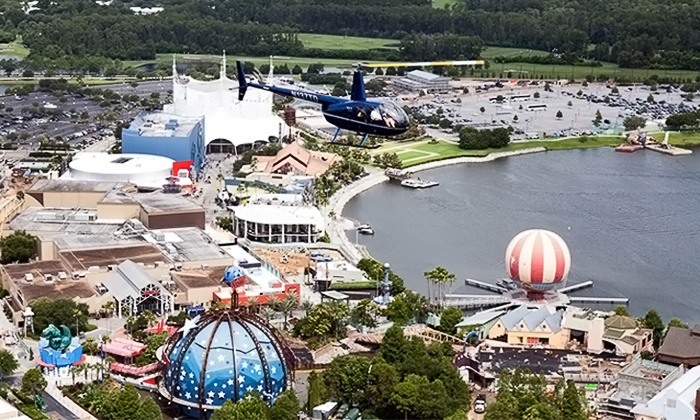 Air Force Fun Helicopter Tours - Air Force Fun Helicopter Tours: Helicopter Tour and Photo for Up to Three People at Air Force Fun (Up to 27% Off). Three Ride Lengths Available.