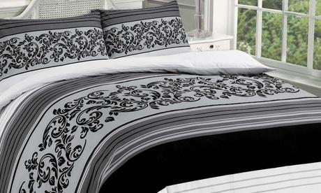 Parure de lit en polycoton