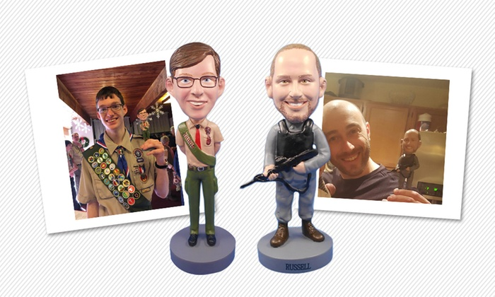 Choice of Custom Bobblehead - Yes Bobbleheads | Groupon