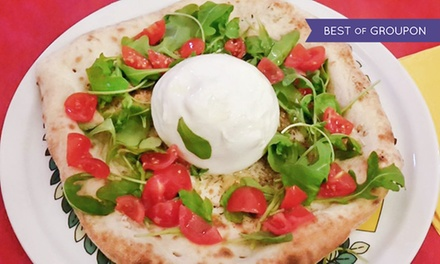 Burrata da 250 gr, pizza e birra