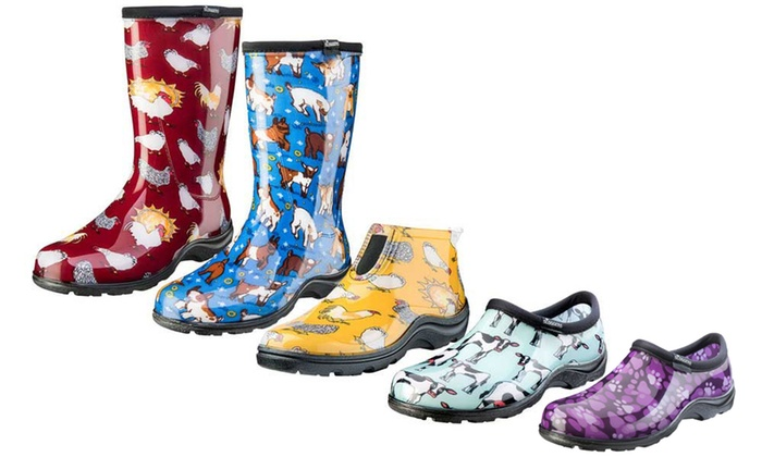 Women's Garden Shoes >> Up To 42 Off On Women S Garden Shoes Or Boots Groupon Goods