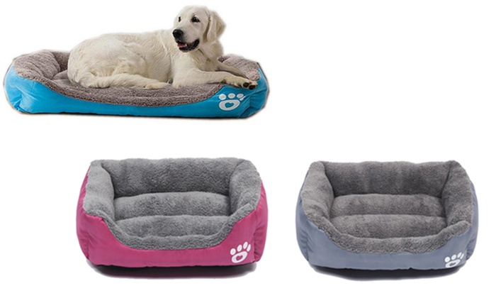 Winter Warm Pet Lounge Bed Groupon Goods