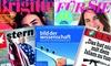 King Media GmbH: 3 oder 4 Monate BRIGITTE, STERN, FOCUS, FÜR SIE oder BILD DER WISSENSCHAFT im Abo lesen + Gutschein oder Prämie