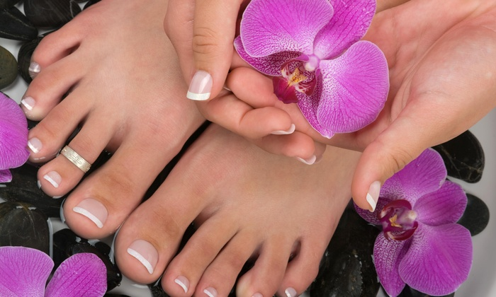 Beachfront Cuts - Mira's: $10 Off Manicure and Pedicure Package at Beachfront Cuts