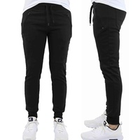 Groupon.com deals on Mens Slim-Fit Fleece & French Terry Joggers