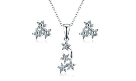 Sreema London Star Necklace and Earrings Set