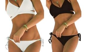 Bikini cache coeur push-up
