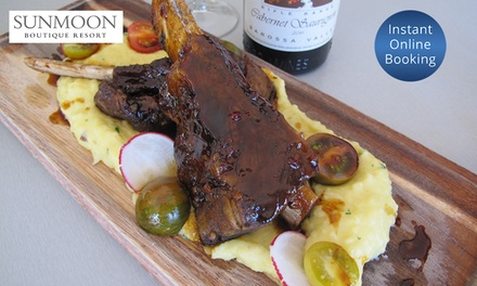 TwoCourse Dining with Wine for Two $59 or Four People $114 at Sunmoon Restaurant & Bar Up to $236 Value