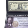 Eisenhower Silver Dollar Tribute