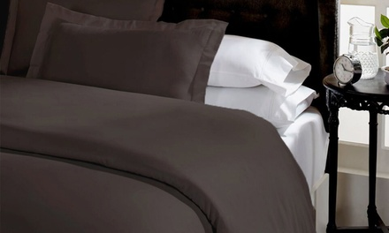 1500TC Cotton Blend Quilt Cover Set: Queen $35, King $39 Don't Pay Up to $249.95