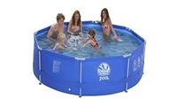 בריכת שחייה צינורות עגולה בקוטר 3 מטרים, שתספק לילדים שעות צוננות של הנאה במהלך כל הקיץ, ב-299 ₪ בלבד