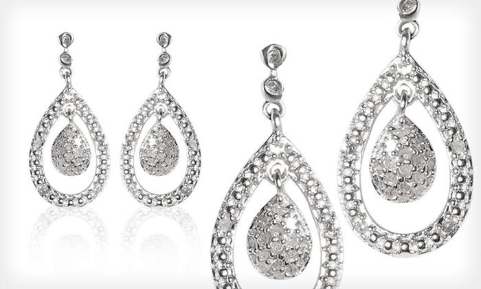 Diamond Teardrop Earrings: $39 for a Pair of Diamond Teardrop Earrings ($149 List Price). Free Shipping.