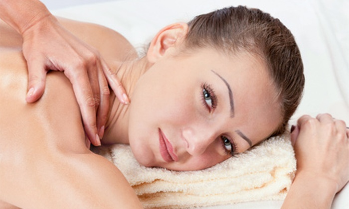 Val Kobelja at LTM - Fort Wayne: 1 or 3 60-Minute Hot-Stone Massages with Sugar Scrubs and Hot-Towel Foot Wraps from Val Kobelja at LTM (Up to 57% Off)